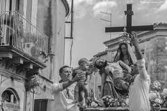 MariaAddolorata 6 (ianosudano85) Tags: mono bn bnw folklore sicilia people persone portait reportage ritratti