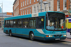 V261 HBH, Friar Street, Reading, March 21st 2015 (Southsea_Matt) Tags: v261hbh 3261 friarstreet arrivatheshires reading berkshire england unitedkingdom march 2015 spring canon 60d sigma 1850mm transport bus omnibus vehicle