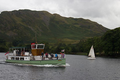 On the Water (phoebe.horner) Tags: lake district england united kingdom walking walk walks mountains hills country countryside britain british lakes thirlmere ullswater hellvelyn rydal buttermere fisher gill spout force waterfall waterfalls boat boats landscape landscapes aira bridge bridges