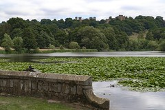 Hardwick walkies (21mapple) Tags: hardwickhall hall bess nationaltrust nt derbyshire outdoors outdoor outside out old ruins stones stately statue stone house home heritage history historic blue building bricks britain water waterscape lake sony a6300 clouds cloudy england