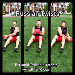 Russian Twists (personaltrainertoronto) Tags: boot camp hiit exercise workout bodybuilding athlete athletic fitness model fit kettlebell free weight bodyweight sexy muscles strong strength powerful track intensity interval abs legs glutes booty butt 6 pack sixpack