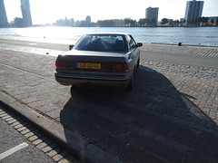 GB-XZ-16, Subaru Legacy 2.0 GL, 1994cc 4 cylinder benzine, 29-01-1993 (gti505) Tags: gbxz16 subarulegacy20gl 1994cc4cylinderbenzine 29011993 spotlocatieparkkade rotterdam