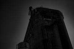 silo 5 usine de grain du XX ème siècle (ram8t) Tags: farine usine silo siecle ciel sky batiment noir noiretblanc montreal quebec canada photo photographie photography tour architecture bâtiment