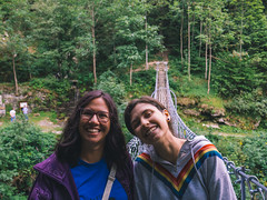 DSC_821 (Mjooolka) Tags: mountain girl girlfriend friend couple nike yellow sweater love sky nature river sun trees cat draw bridge adventure indie earth planet me selfie flowers green building colours colorfull hair portrait smile funny fall summer sunday anna cuneo landscape