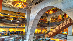 San Diego, CA: Central Library (nabobswims) Tags: ca california centrallibrary highdynamicrange ilce6000 library lightroom mirrorless nabob nabobswims photomatix sel18105g sandiego sonya6000 us unitedstates
