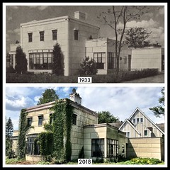 Top photo is from Good Housekeeping, Aug 1933. (neilsharris) Tags: abandonedchicago wilmette