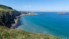 Carrick-a-Rede   |   Coastline (JB_1984) Tags: coast ocean atlanticocean cliff coastline causewaycoast carrickarede ballintoy countyantrim northernireland uk unitedkingdom nikon d500 nikond500