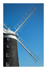 243/365: The Tower Windmill (judi may) Tags: 365the2018edition 3652018 day243365 31aug18 norfolk windmill burnhammarket bluesky blue sky canon5d