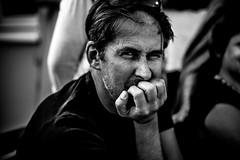 Fiesta3 (PaxaMik) Tags: portrait portraitnoiretblanc noiretblanc fiesta party mains hands contraste regard man