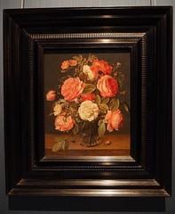 Jacob van Hulsdonck, Roses in a Glass Vase, c. 1640 - 1645 (M_Strasser) Tags: mauritshuis olympus olympusomdem1 holland netherlands
