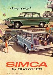 1963 Chrysler Simca Aronde Sedan & Wagon Valiant SV1 S Series Sedan Page 2 Aussie Original Magazine Advertisement (Darren Marlow) Tags: 1 3 6 9 19 63 1963 c chrysler s simca aronde sedan w wagon v valiant sv1 series car cool collectible collectors classic automobile vehicle f french france e european europe 60s