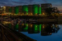 Duisburg-Innenhafen (Klaus Fritsche) Tags: duisburg innenhafen langzeitbelichtung nachtaufnahmen