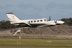VH-RWS Cessna 421C Golden Eagle (johnedmond) Tags: perth ypjt westernaustralia jandakot jad cessna c421 goldeneagle australia aviation aircraft aeroplane airplane plane canon eos 7d 100400mm