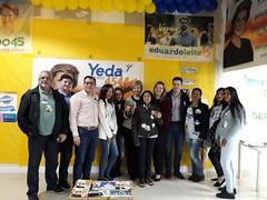 11/09/18 - Inauguração do Comitê de Bento Gonçalves. Com os candidatos a deputado estadual, Zilá Breitenbach e Vinícius Medeiros.