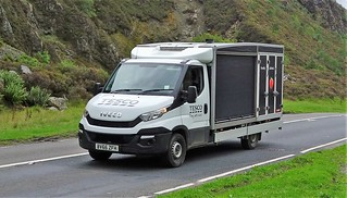 Tesco Delivery Van Iveco Daily BV66 ZFH