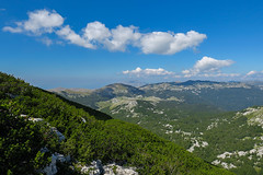 Dinara mountain, Bosnia and Herzegovina (HimzoIsić) Tags: landscape mountain outdoor nature hill sky clouds stone mountainside