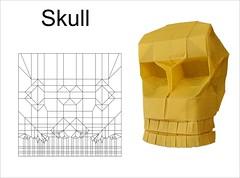 Skull (Mdanger217) Tags: max danger origami skull cp