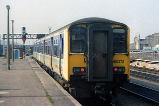 150273, Cardiff Central, March 13th 1993