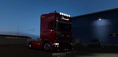 Sarantos Scania R500 [ETS2] (gripshotz) Tags: scania r 500 rjl sarantos skin euro truck simulator ets 2