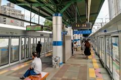 남영역 전철 승강장 (TFurban) Tags: 서울특별시 대한민국 승강장 플랫폼 기차역 철도역 platform ホーム