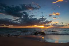 Maui Sunset (blackhawk32) Tags: hawaii landscape maui ocean sunset beach twight waves