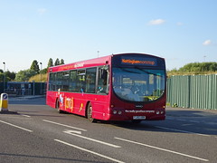 trent barton 682 Derby (Guy Arab UF) Tags: trent barton 682 fj55abn scania l94ub wright solar derby bus station red arrow derbyshire wellglade buses wellgladegroup