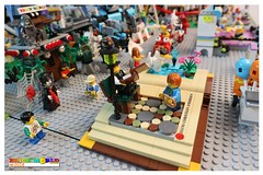The Ugly Duckly Fantasy Book (EVWEB) Tags: lego minifigures amusement park carnival luna fairground humor funfair fun playground roller coaster ferris wheel carousel haunted house dark egypt ice cream baloon