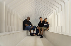 FunhouseDC (jtgfoto) Tags: approved nationalbuildingmuseum snarkitecture funhousedc alphacollective sonyimages sonyalpha architecture washingtondc architecturalphotography museum installation artwork washington people smiles perspective models lines leadinglines