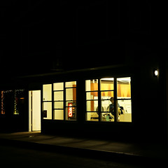 Late Night Laundry (Something Sighted) Tags: scènederue window balboaisland newportbeach orangecounty night california streetphotography