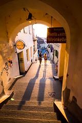 (fernando_gm) Tags: rumania street color colour contraluz backlight romania sibiu gente shadow sombra people human fujifilm fuji 1024mm xt1 calle callejera city ciudad atardecer