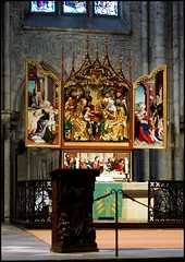 Ulmer Münster - Hochaltar Martin Schaffner 1521 - (HOR-BS 696) Tags: berndsontheimer badenwürttemberg ulmdonau ulmermünster curch kirche kirchenschiff eglise