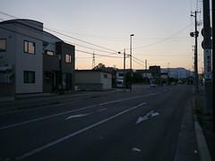 A walk early in the morning (しまむー) Tags: panasonic lumix dmcgx1 gx1 g 20mm f17 asph trip train yuri highland railway 由利高原鉄道