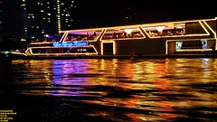 ..dining on the Princess.. (Ferry Octavian) Tags: lg g4 smartphone phone cameraphone android handheld manual landscape street shot travel trip noflash explore color colour outdoor night nightshot lowlight highiso slowshutter darkbackground blackbackground light metro metropolis city cityscape modern pan panning movement motion streak action trail thailand thai bangkok capital asia south east sea southeast restaurant resto traditional cuisine culinary chao praya river chaoprayaprincess boat ship cruise dine dining vessel