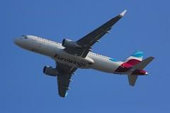 A320 D-AEWU London Heathrow 13.09.18 (jonf45 - 4 million views -Thank you) Tags: a320 london heathrow airport egll lhr airliner civil aircraft jet plane flight aviation eurowings airbus a320214s daewu