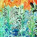 flower painting oil on canvas flowers paintings raphael perez drawings drawing