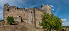 Outside Najac Castle (PhilHydePhotos) Tags: architecture buildings france lesplusbeauxvillagesdefrance najac southoffrance themostbeautifulvillagesoffrance bâtiments
