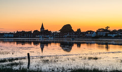 Sunglow and reflections. (THE NUTTY PHOTOGRAPHER) Tags: bosham sunset wetreflection reflections sussex westsussex