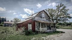 Dawson UMC_Old Color (Bob G. Bell) Tags: abandoned abandonedchurch dawson wv greenbrier church rural countrychurch umc bobbell
