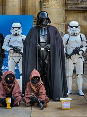 Darth Vader (The Barleycorn) Tags: darth vader stormtroopers