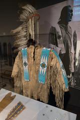 Ojibway outfit of Night Bird (quinet) Tags: 2017 aborigène canada firstnations indian kunst ontario rom royalontariomuseum toronto ureinwohner aboriginal art museum musée native 124