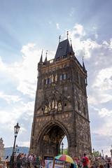 Staroměstská mostecká věž, Karlův most (RunningRalph) Tags: bridge brug charlesbridge czechrepublic karelsbrug karlůvmost prague praha staroměstskámosteckávěž tower praag hlavníměstopraha tsjechië cz