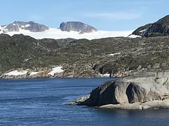 Entering Prince Christian Sound (sobergeorge) Tags: vov2018 msrotterdam greenland sobergeorge bysobergeorge icefield iphone iphone7 voyageofthevikings deepnorth geotag gps summercruise