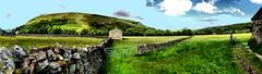 Muker meadows (tina negus) Tags: muker meadows panorama yorkshire dales swaledale