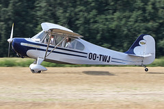 OO-TWJ (QSY on-route) Tags: ootwj old timer fly drive in 2018 schaffen diest ebdt 12082018