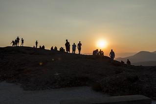 Puesta de Sol en Meterora