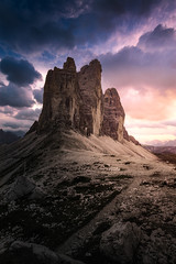 At the End of a great Day (Croosterpix) Tags: landscape nature dolomiti dolomites mountains sunset sky clouds rocks sony a7r nikkor1835 croosterpix