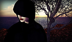 The darker side of things (Mϊŋɠ Ƭωιѕт) Tags: hood sea sunset sorrow grief photography art artisticexpression explore