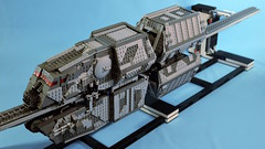 Motorized Conveyex Finished! (Playwell Bricks) Tags: lego moc thesolostory train technic starwars conveyex imperial design engineering creativity