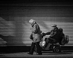 Getting about (JEFF CARR IMAGES) Tags: ashtonunderlyne northwestengland greatermanchester marketday