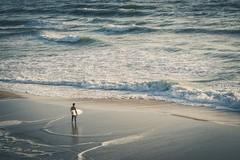 surfing (DaveGassmann) Tags: view sport beach strand men blue wellen waves water sea meer atlantik penf olympus surf